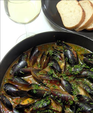 Mussels Josephine. Photo by Mama's Kitchen (Hope)