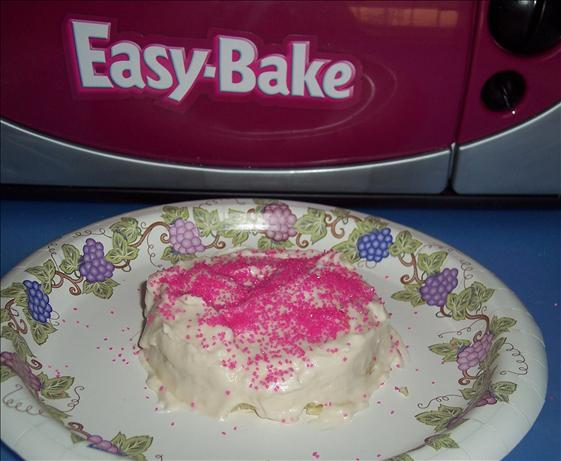 Easy-Bake Oven Pink Sparkles Frosting. Photo by looneytunesfan