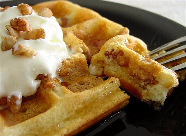 Buttermilk Pecan Waffles. Photo by Marg (CaymanDesigns)