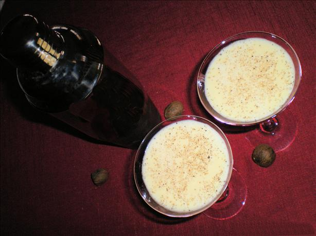 Eggnog Martini. Photo by Julie B's Hive