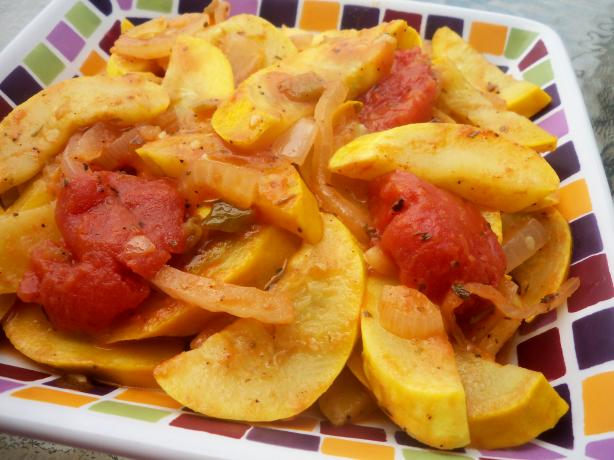Sauteed Yellow Squash and Tomatoes. Photo by *Parsley*