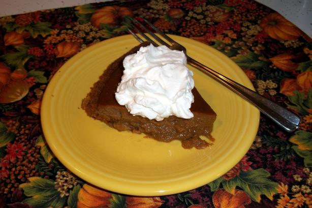 Paula Deen's Apple Butter Pumpkin Pie. Photo by JenBlanchette