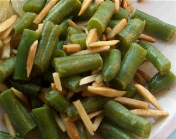 Green Beans Almondine. Photo by Lainey6605