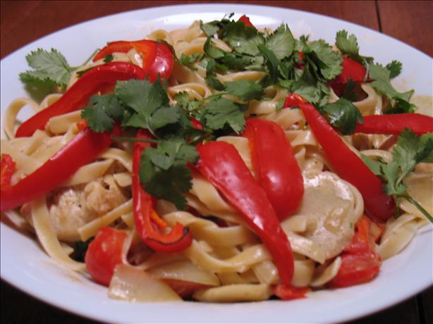 Coconut Thai Curry Chicken. Photo by SoChic