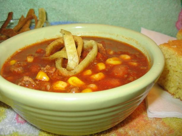 Healthy Taco Soup. Photo by Lorrie in Montreal