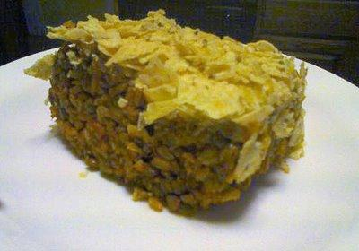 Mexican Lentil Casserole. Photo by Homemade Mom