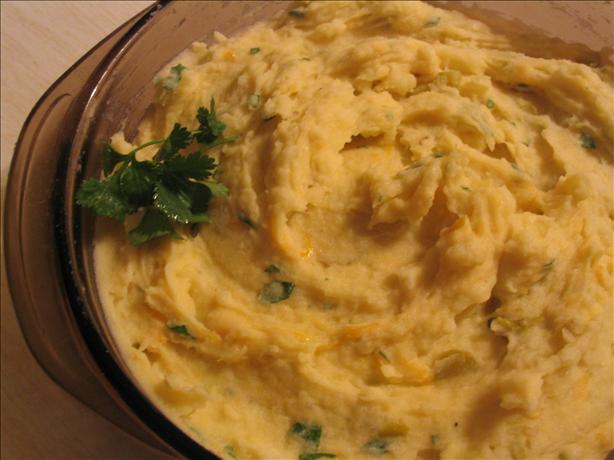 Mexican Mashed Potatoes With Green Chiles. Photo by Charmie777