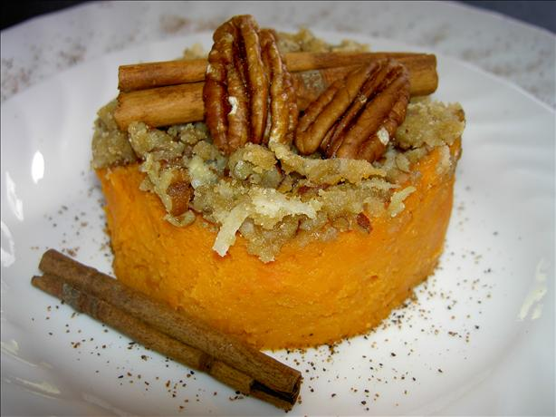 Sweet Potato Souffle. Photo by Southern Polar Bear