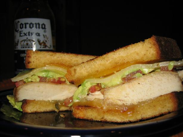 My Baby's Broiled Chicken Breast Sandwich. Photo by podapo