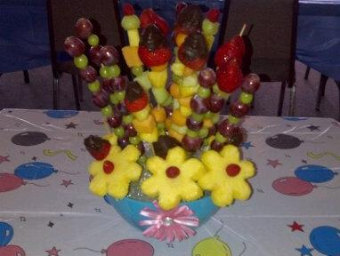 Fruit Bouquet. Photo by Rhonda *J*