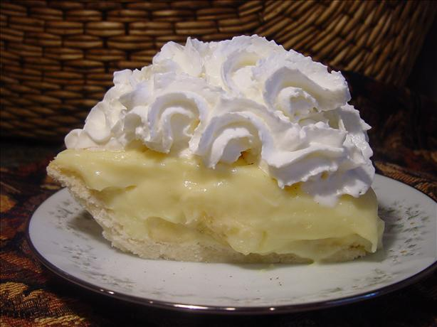 Old-Fashioned Banana Cream Pie. Photo by Sharlene~W