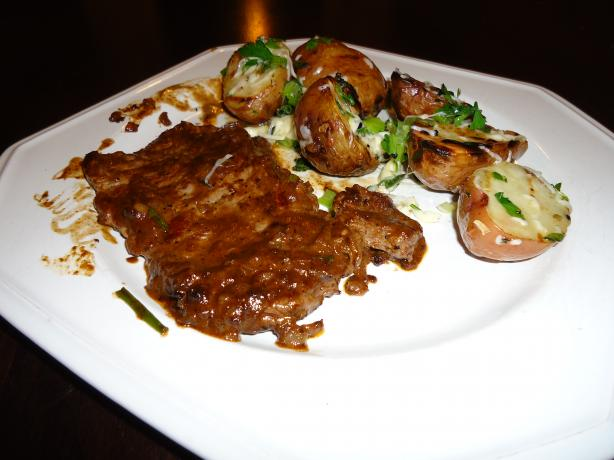 Famous 21 Club's Steak Diane. Photo by firstnameHayes