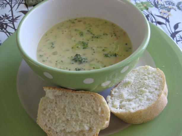 Panera Broccoli Cheese Soup. Photo by danakscully64