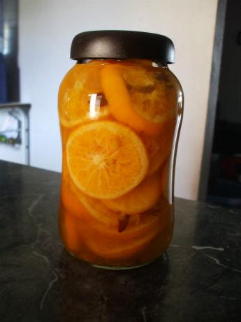 Sunny Southern Preserved Oranges. Photo by Mami J