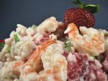 Shrimp and Strawberry Salad