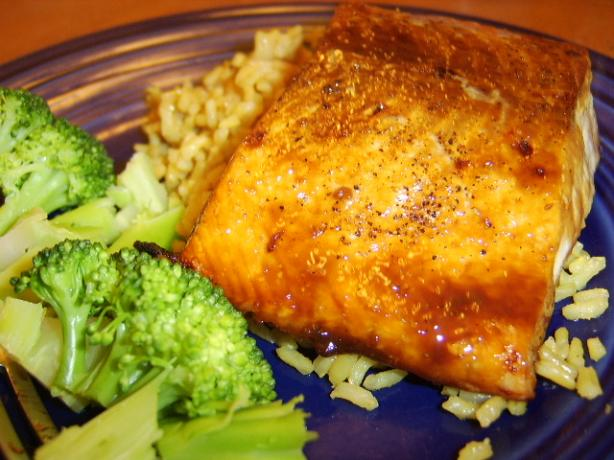 Brown Sugar-Glazed Salmon. Photo by LifeIsGood