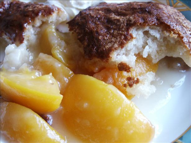 The Lady and Sons Easy Peach Cobbler ( Paula Deen ). Photo by kiwidutch