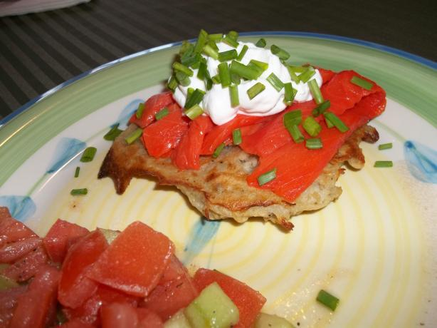 Salmon Pancakes. Photo by rpgaymer