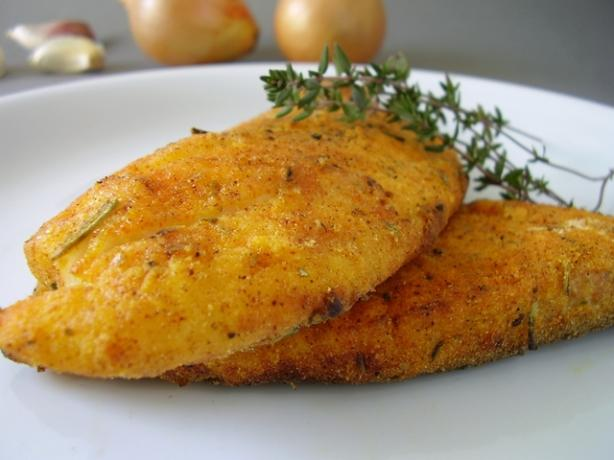Yummy Crispy Baked Fish. Photo by Thorsten