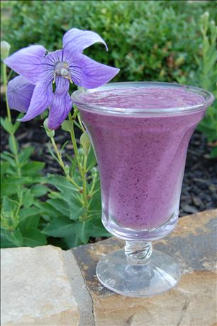 Blueberry Smoothie. Photo by Juenessa