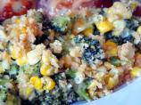 Corn and  Broccoli Bake