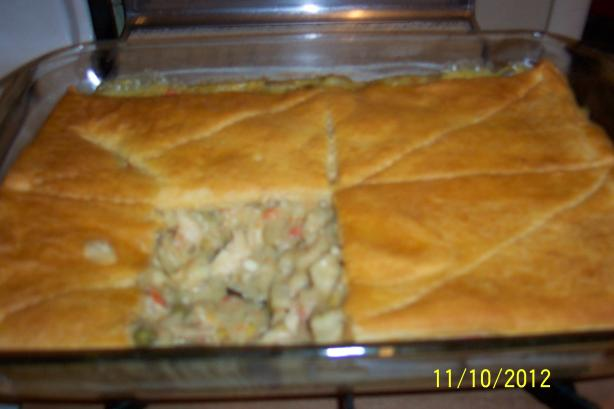 Chicken Pot Pie. Photo by drosburg