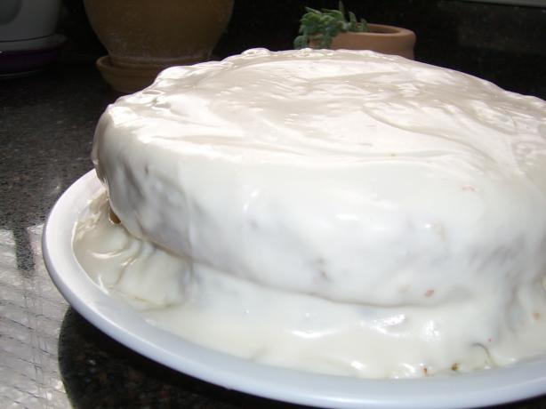 Sour Cream Icing. Photo by Chef*Lee