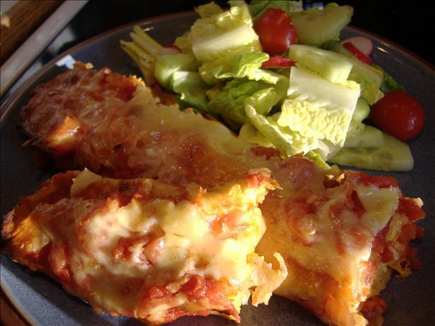 Enchiladas Calabaza. Photo by Tasty Tidbits