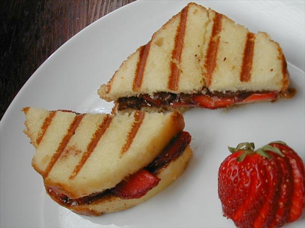 Chocolate-Strawberry Panini. Photo by ms_bold
