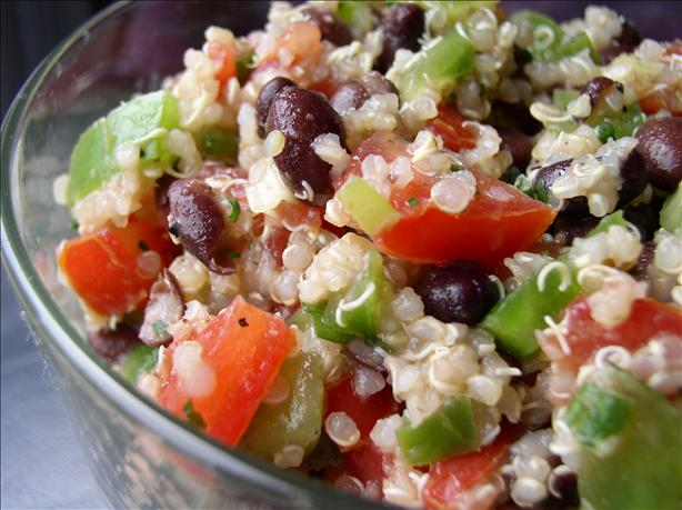Quinoa Black Bean Salad. Photo by Bayhill