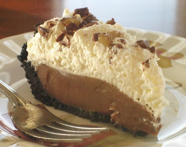 Chocolate Icebox Pie. Photo by livie
