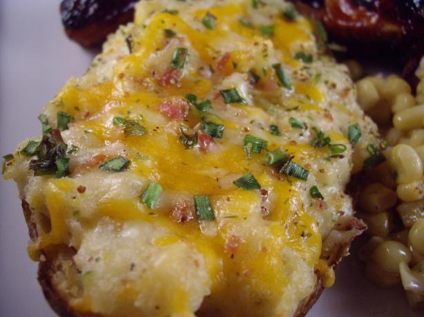 Easy Twice Baked Potatoes. Photo by Columbus Foodie
