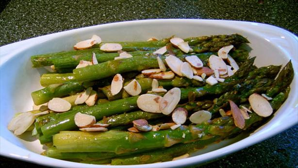 Oven Roasted Asparagus. Photo by Mikekey