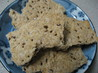Flax Seed Cracker Bread. Recipe by Manami