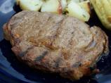 Rib Eye Steak in Bock Beer Marinade
