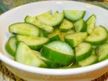 Cucumbers in Vinegar