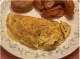 Onion Cheese Omelet