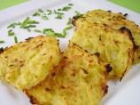 Un-Fried Potato Latkes