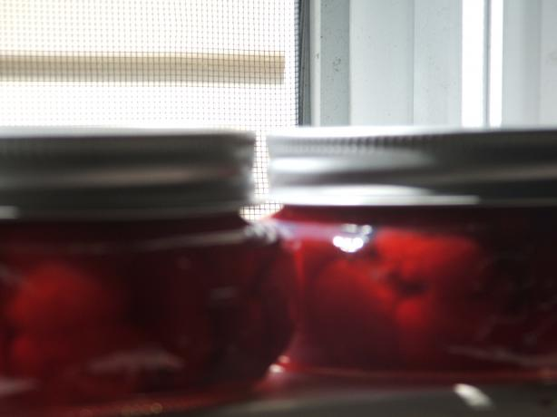 Homemade Maraschino Cherries. Photo by Antifreesz