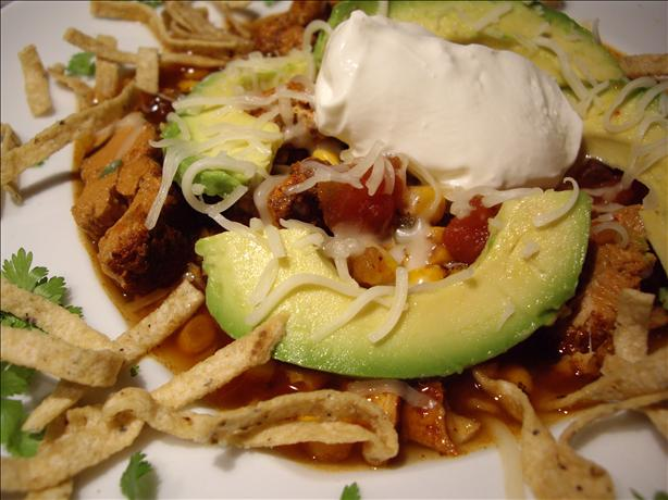 Crock Pot Chicken Tortilla Soup. Photo by Columbus Foodie