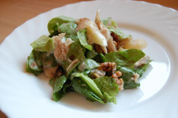 Chicken Pear Salad. Photo by Krista Roes