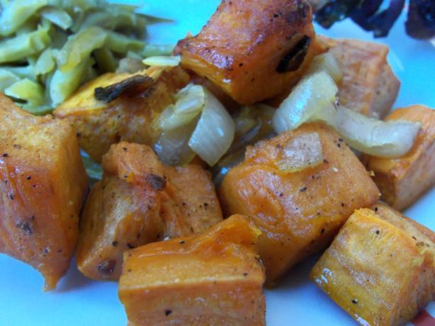 Oven-Roasted Sweet Potatoes. Photo by AZPARZYCH