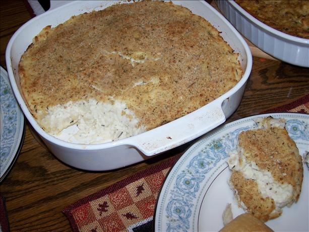 Make Ahead Mashed Potato Casserole. Photo by Fauve