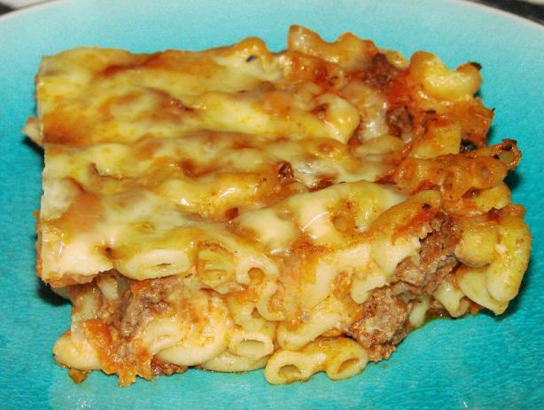 Beef, Cheese, and Noodle Bake. Photo by Boomette