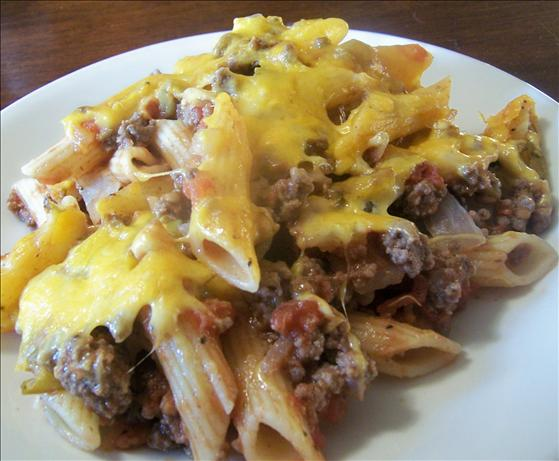 Chili Pasta Bake. Photo by *Parsley*