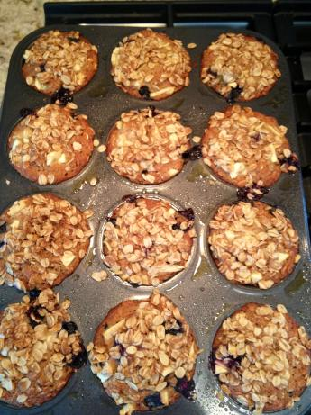 Applesauce Oatmeal Muffins. Photo by Genevieve1922