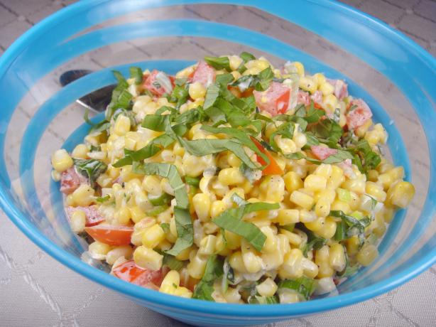 Creamy Corn Salad. Photo by Lori Mama