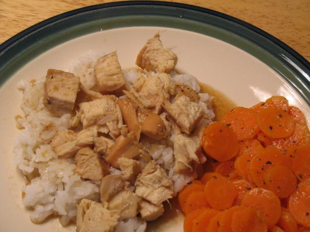 Sweet Aromatic Chicken With Rice (Crock Pot). Photo by J-Lynn
