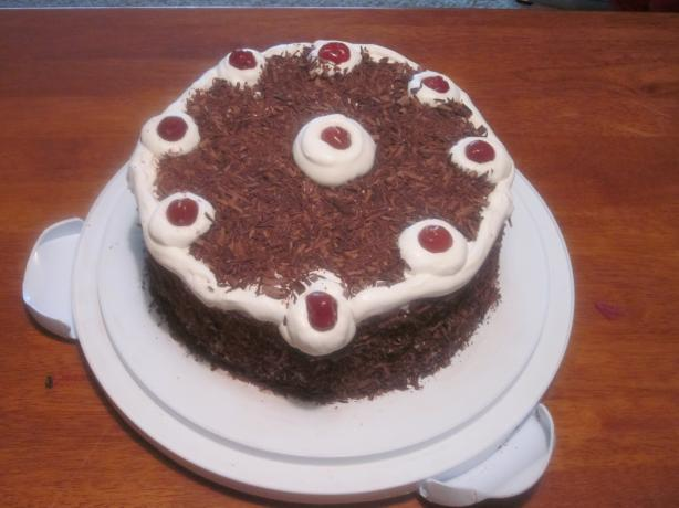 German Black Forest Cake. Photo by muyfeliz
