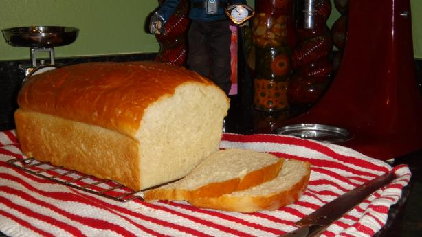 &quot;soft As Wonder&quot;  White Bread. Photo by Bake it Baby